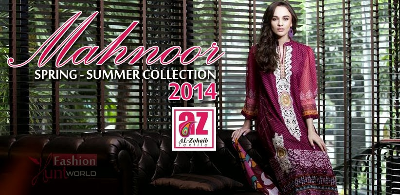 Al-Zohaib Textile Spring Lawn Collection