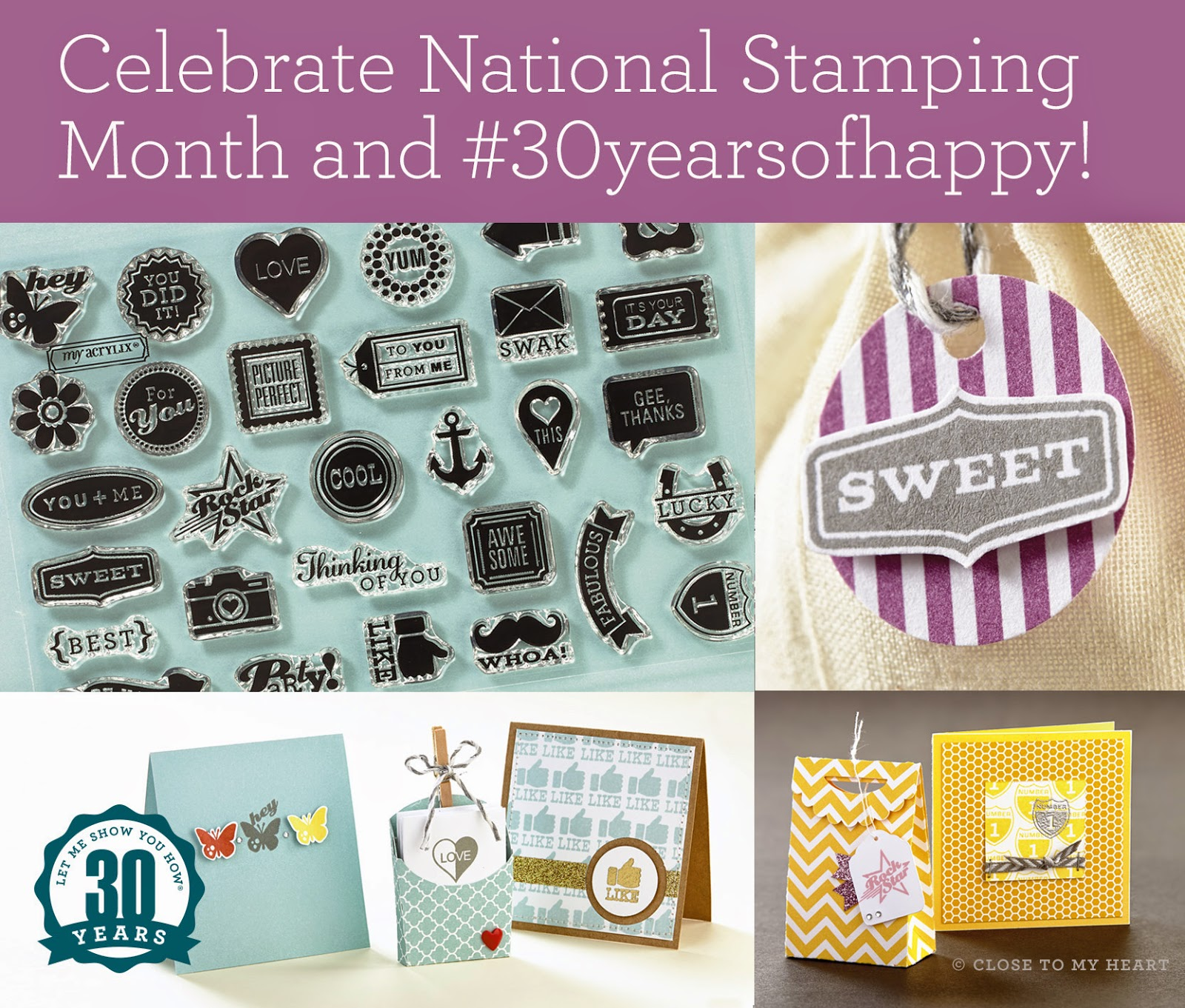 National Stamping Month Stamp Set Earn Free