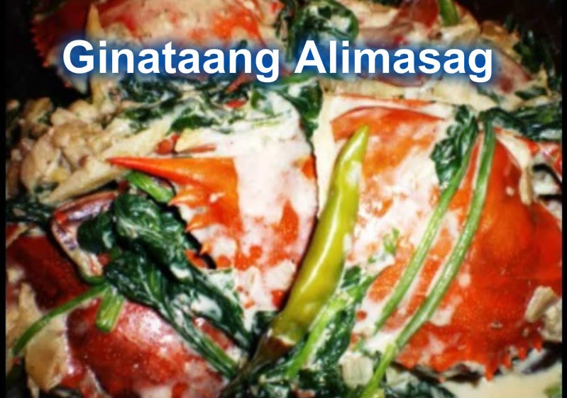 Watch the video tutorial & Learn how to cook Ginataang Alimasag or ...