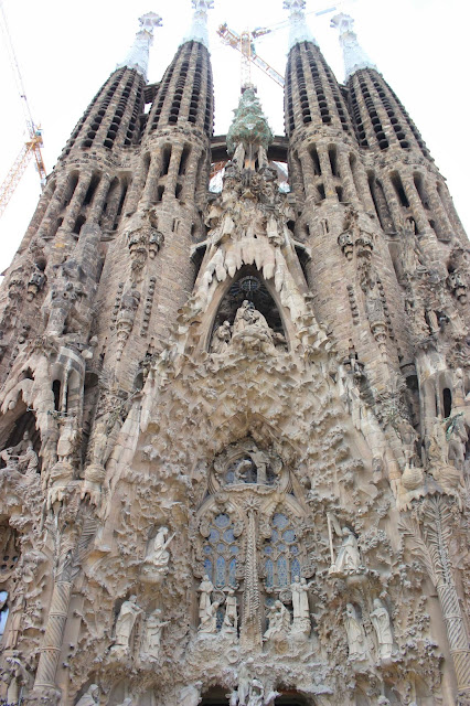 Nativity Facade | La Sagrada | Chichi Mary Blog