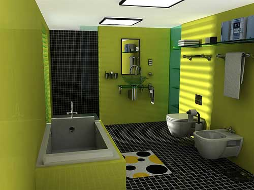 Gambar Desain Kamar Mandi Rumah Minimalis