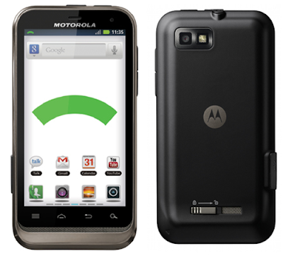 Motorola DEFY XT535 complete specs and features