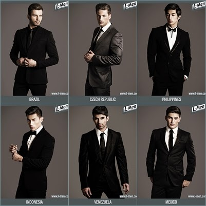Mister International 2013 Top 6 six Finalists