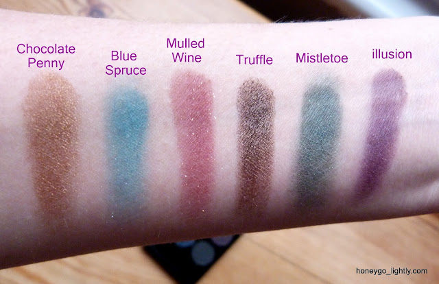 sparkle 2 palette swatches