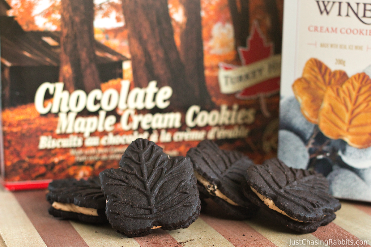 Turkey Hill Chocolate Maple Cream Cookies