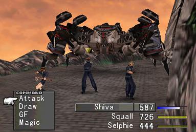 Final Fantasy VIII Ff8battlexample2