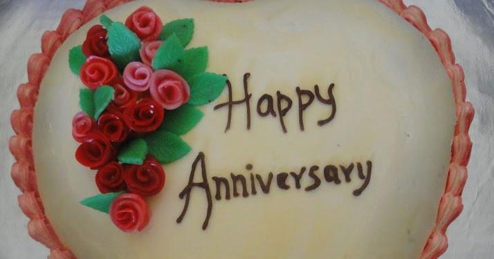 Anu prathap s kitchen a white heart cake for a wedding anniversary