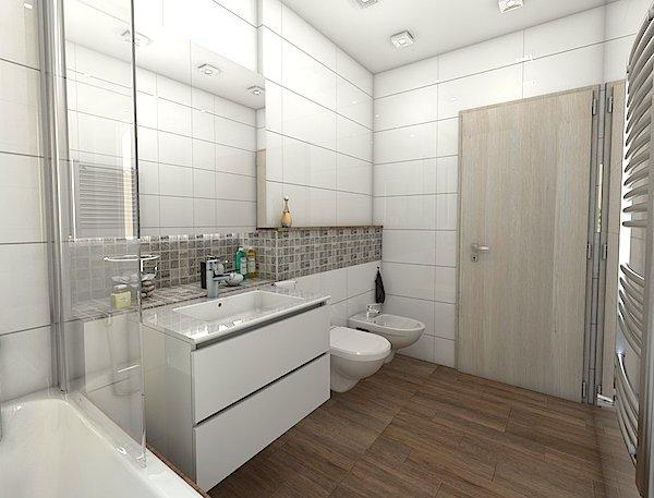 návrh koupelny v okolí Brna Markéta Šilhavíková