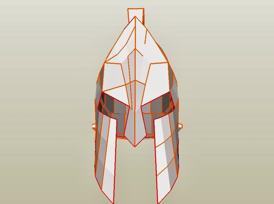 Dali Lomo Spartan 300 King Leonidas Costume Helmet Diy