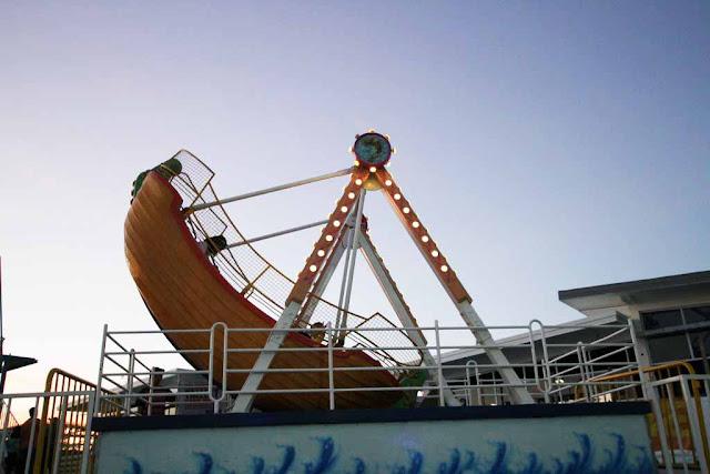 Mini Viking at Sky Fun Amusement Park at Sky Ranch Tagaytay