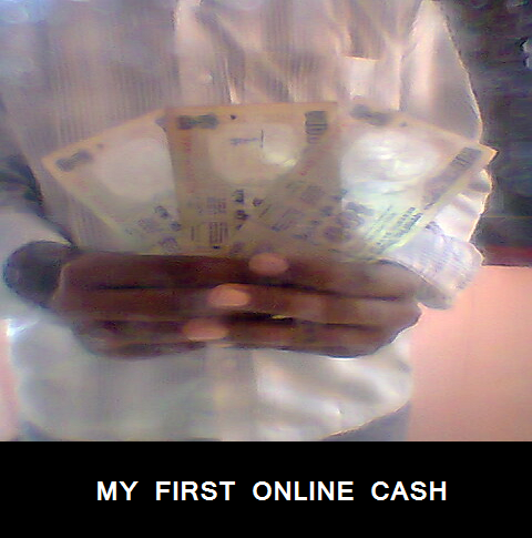 my first online cash