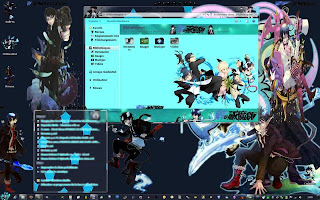 Download Tema Blue Exorcist Untuk Windows 7