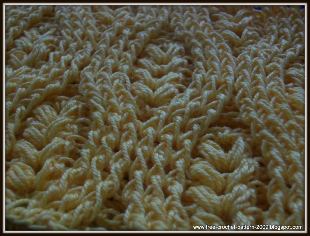 Crochet Stitches Front Post Double Crochet : Girlies Crochet: How to Crochet Front Post Double Crochet (FPDC)