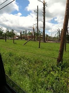 Tennessee Tornado Damage