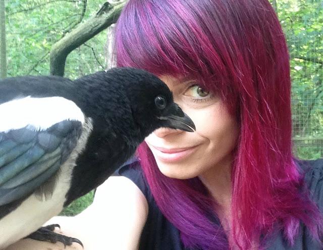 Jennifer Tulip and magpie