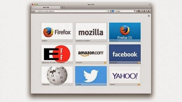 موزيلا فايرفوكس تختبر عرض الاعلانات على المتصفح في الاسابيع القادمة