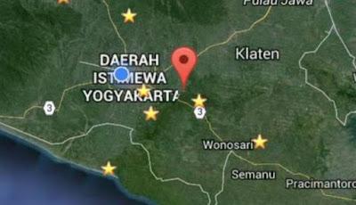 Gempa yogyakarta hari ini