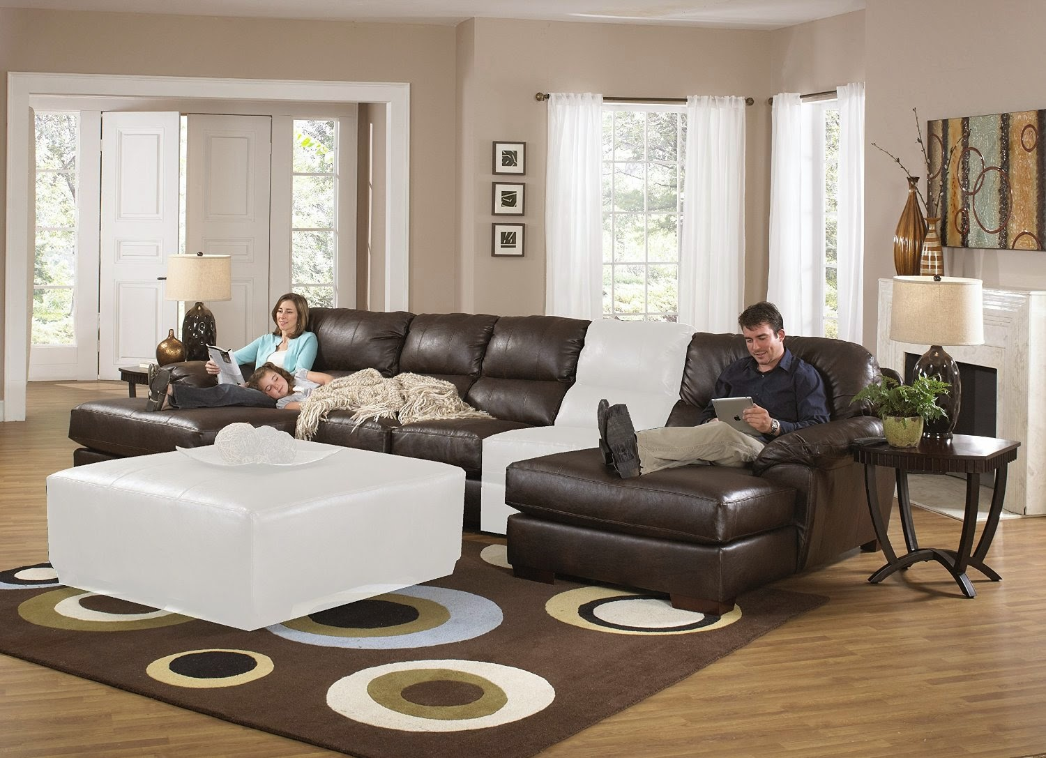 Reclining Sofa Loveseat And Chair Sets Sleeper Sofa Reclining Loveseat Set
