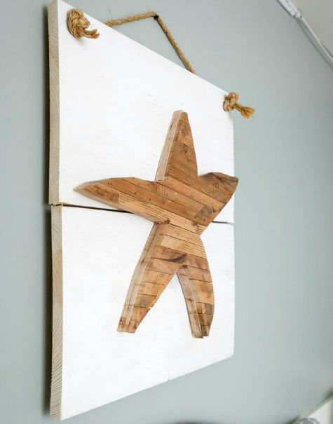 Trend You can see how different wood planks are used to create these wall art pieces You might have scrap wood in your basement that