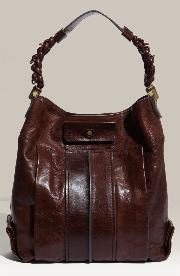Chloe' Heloise -Small Leather Hobo. I love the leather details on this bag