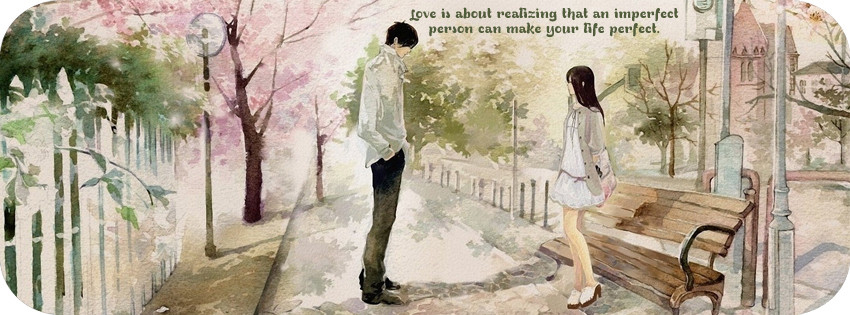 Couple love quotes timeline covers