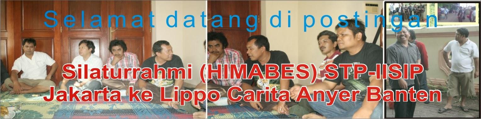 Silaturrahmi (HIMABES) STP-IISIP Jakarta ke Lippo Carita Anyer Banten