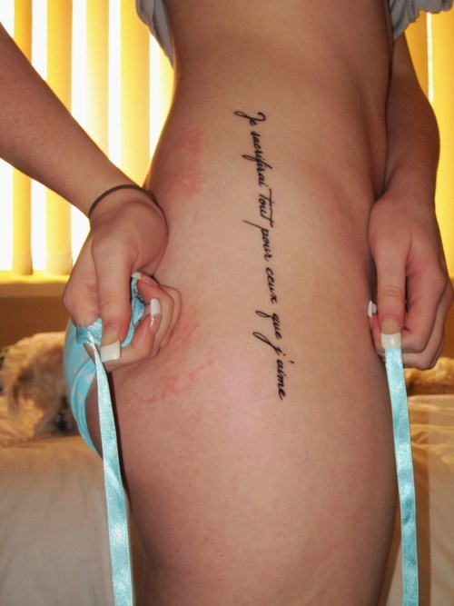 tattoo writing styles for
