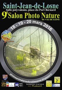 L'affiche du prochain Salon Photo Nature du Val de Saône 2016
