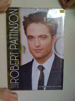 Robert Pattinson on Robsten Fanatics  New  2012 Robert Pattinson Calendar
