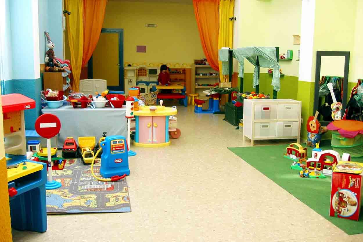Organizaci n del aula de educaci n infantil for Cortinas para aulas