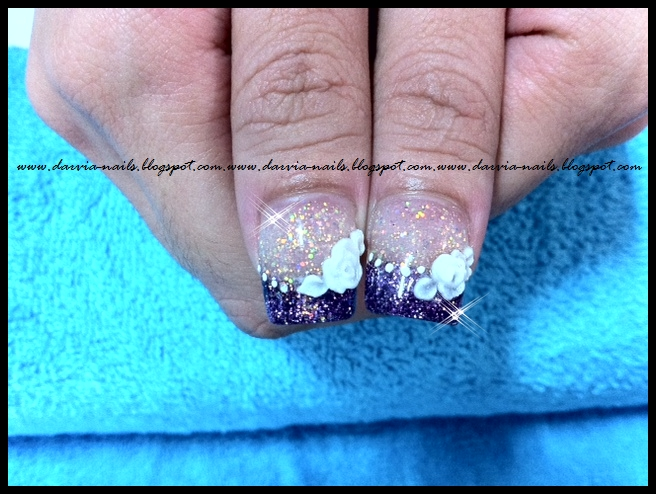 The Glamorous Beauty french nail designs Photograph