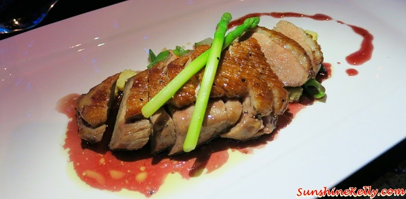 Panfried Fillet of Duck Breast, Truffled  Red Wine, Honey Sauce, iMiirage @ Ipoh SoHo, iMiirage, Ipoh soho, ipoh, soho, World's 1st Ambience Dining Experience