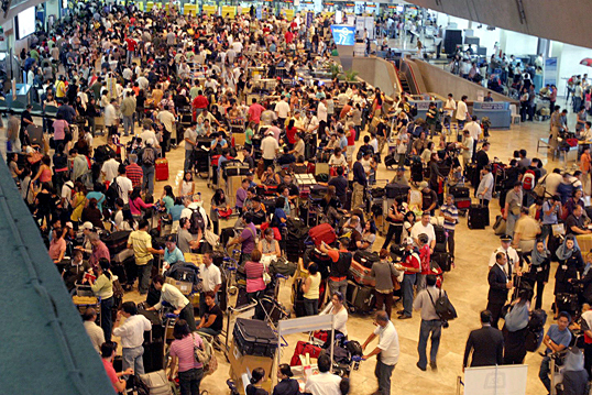 how to get to naia terminal 1