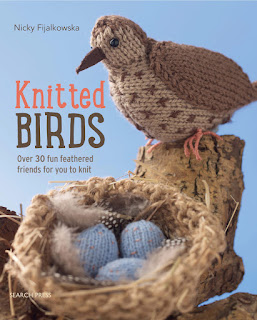 Knitted Birds book knitting patterns by Nicky Fijalkowska