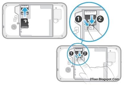 Insert Remove microSD Memory Card Sony Xperia Tipo Dual