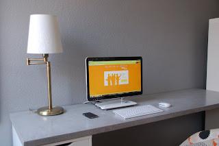 besserbauen schreibtisch in beton cire. Black Bedroom Furniture Sets. Home Design Ideas