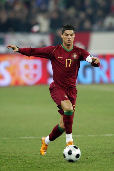 Best Celebrity: Cristiano Ronaldo Football Player