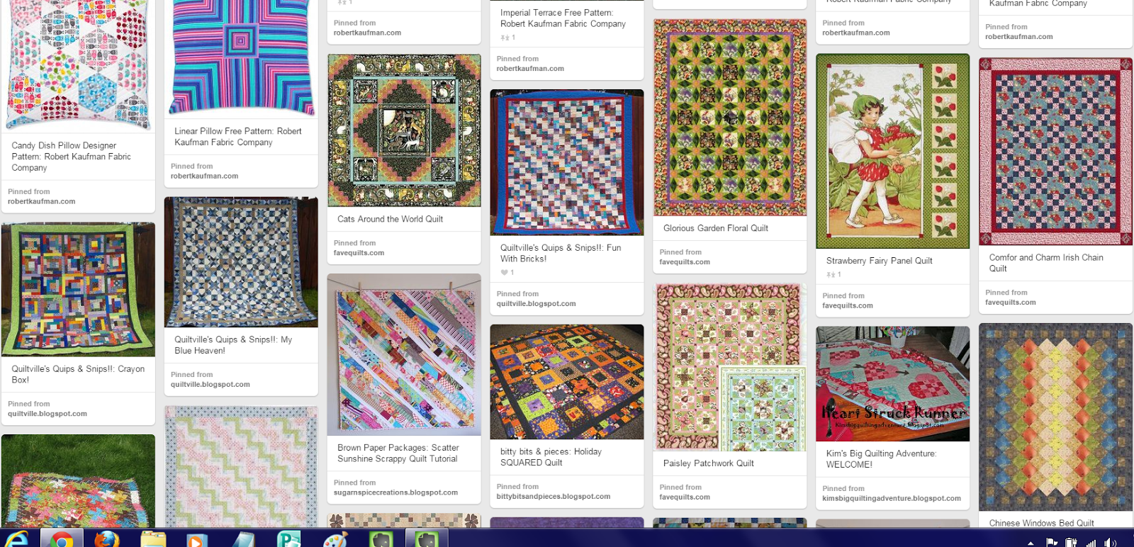 Quilting Tutorials, Video's, Patterns and How-To's Pinterest Board