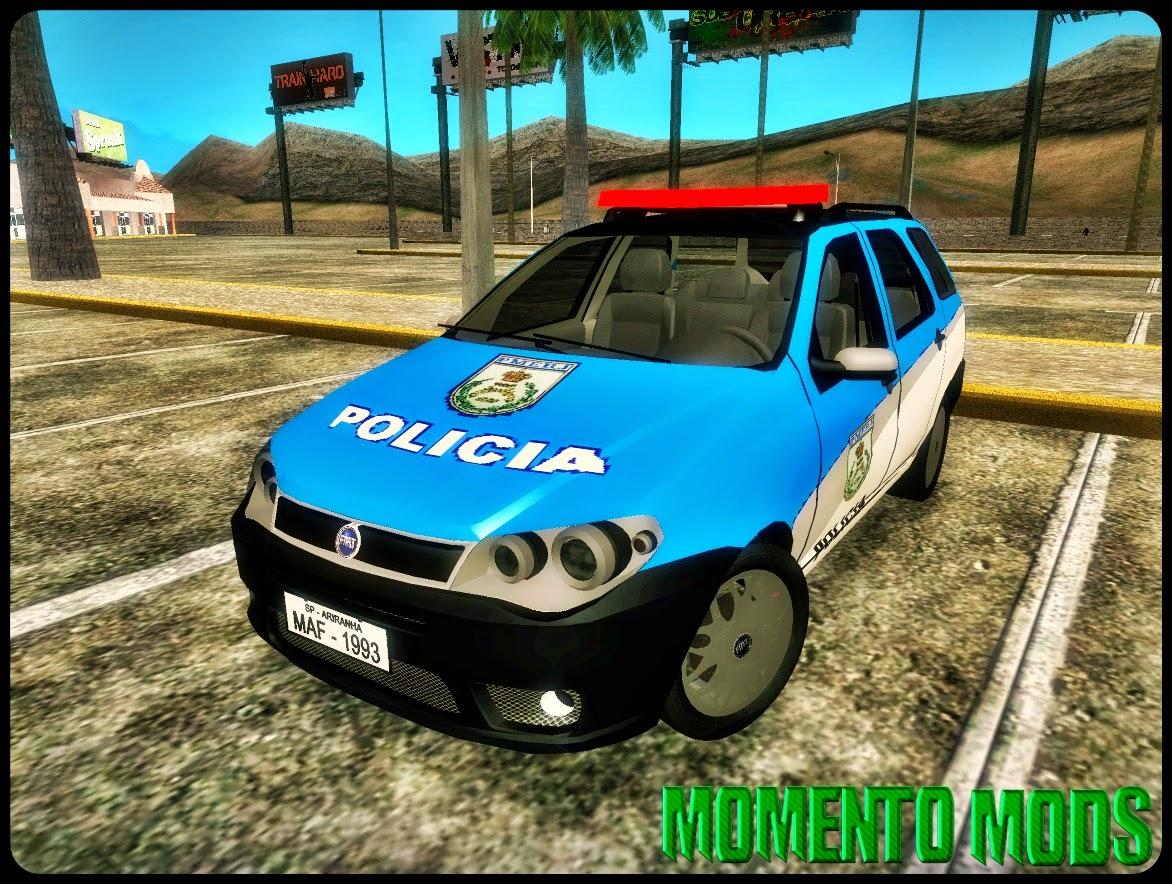 GTA SA - Pack Polícia Militar RJ