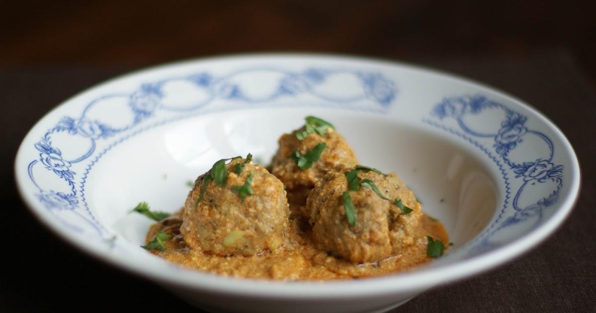 Hiidenuhman keittiössä Intialaiset lihapullat, koftat
