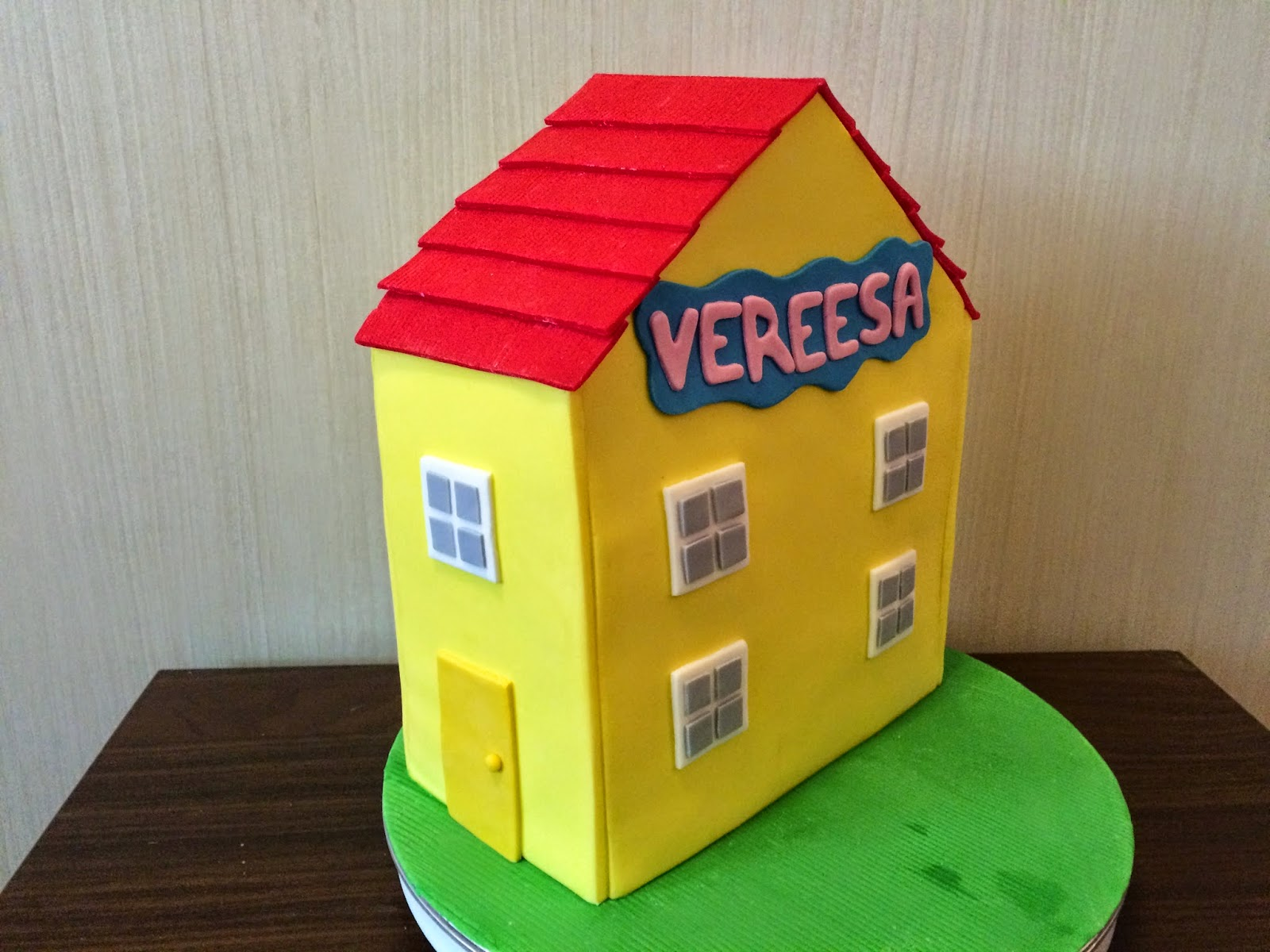This Gives The House A Very Clean, Sharp Look. It Is Also Important To Get  The Buttercream Crumb Coat Nice And Flat Because Any Bumps Will Show  Through The ...