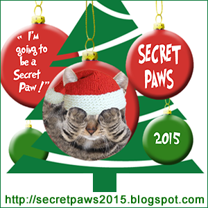 Mudpie's 1st Secret Paws!