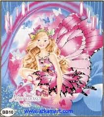 Jual Selimut New Seasons Blanket barbie mariposa