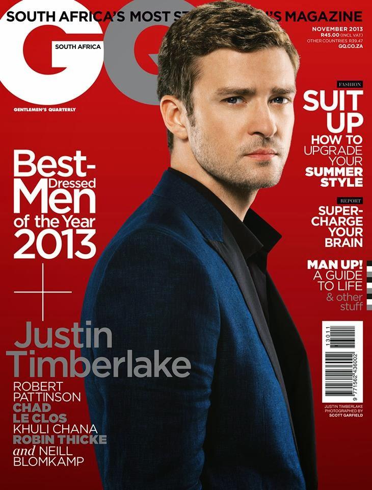 Galería >> Fotos de apariciones, conciertos, portadas... - Página 2 Justin+timberlake+cover+GQ+SOuth+Africa+2013+november