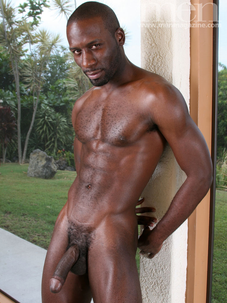 naked men Hot abs black with