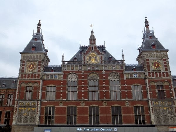 amsterdam centre médiéval centraal station