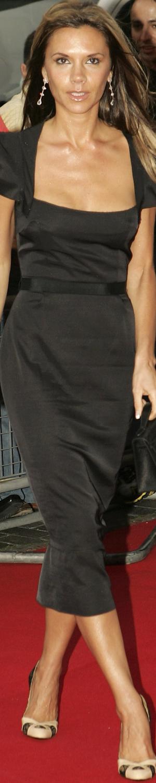 Victoria Beckham  in Roland Mouret Galaxy in 2005 Pride of Britain Awards