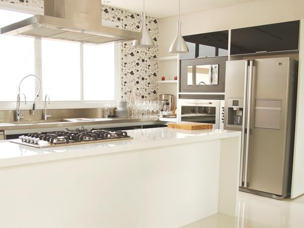 Super Curiosa Design Novas Tecnologias Marmoglass e Nanoglass # Bancada Cozinha Super Nanoglass