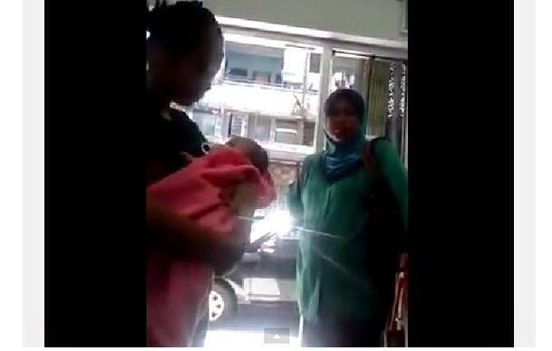 Kejam Video kisah 3 lelaki beruniform R0GOL wanita baru lepas bersalin