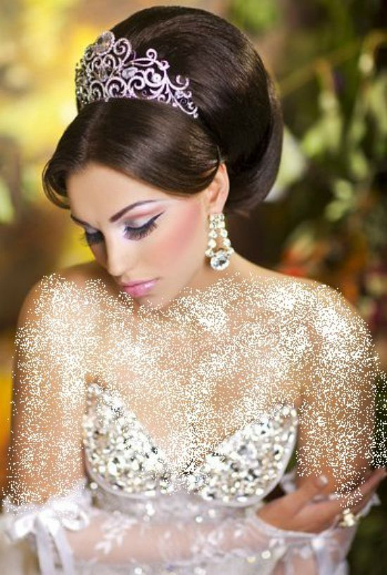 Stunning Arabic Bridal Hairstyles